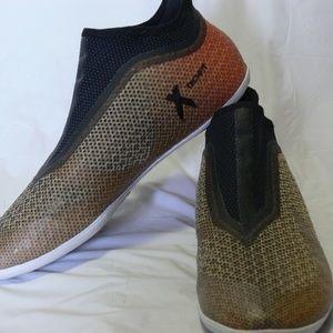 ADIDAS X TANGO 17+ PURESPEED INDOOR BOOTS - GOLD